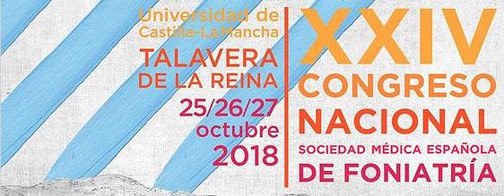 XXIV Congreso Nacional de Foniatría 2018